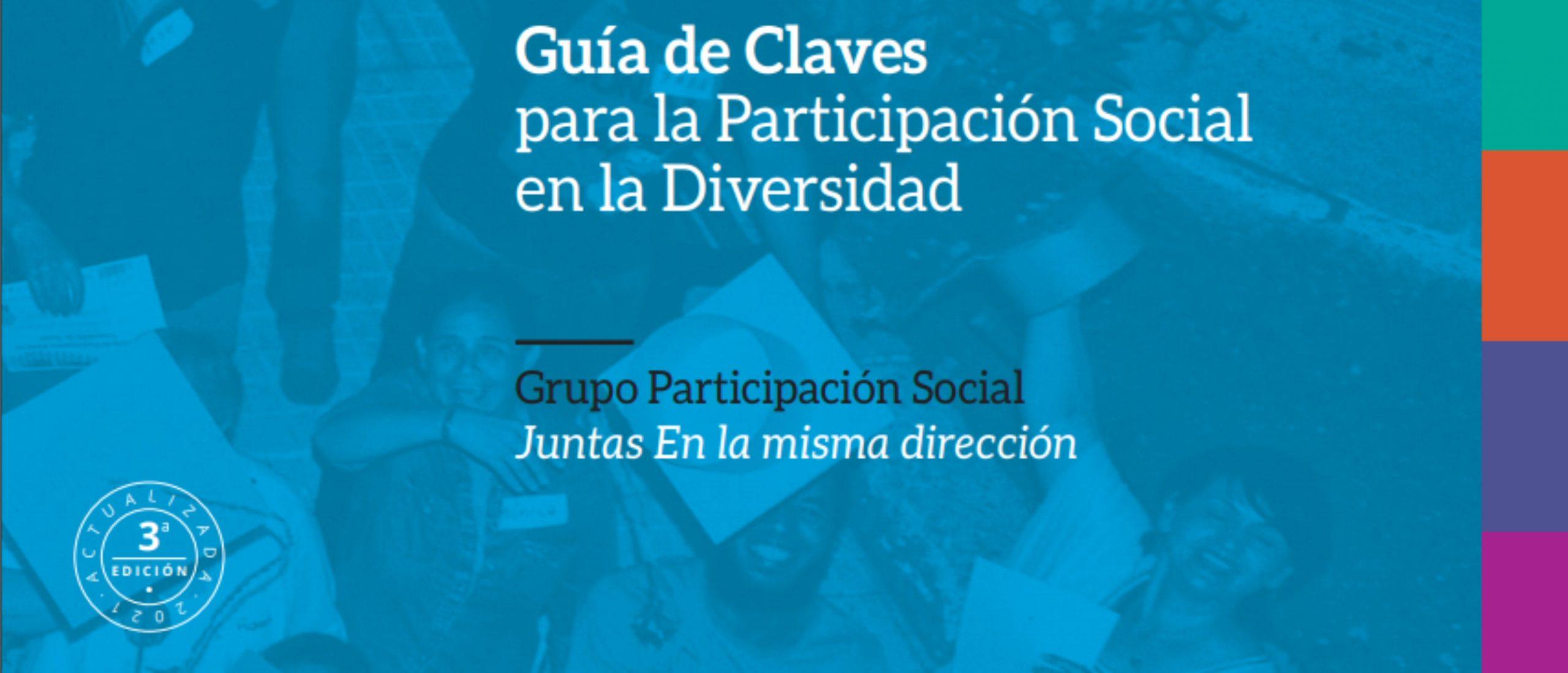 Guía de Claves para la Participación Social en la Diversidad (versión actualizada)