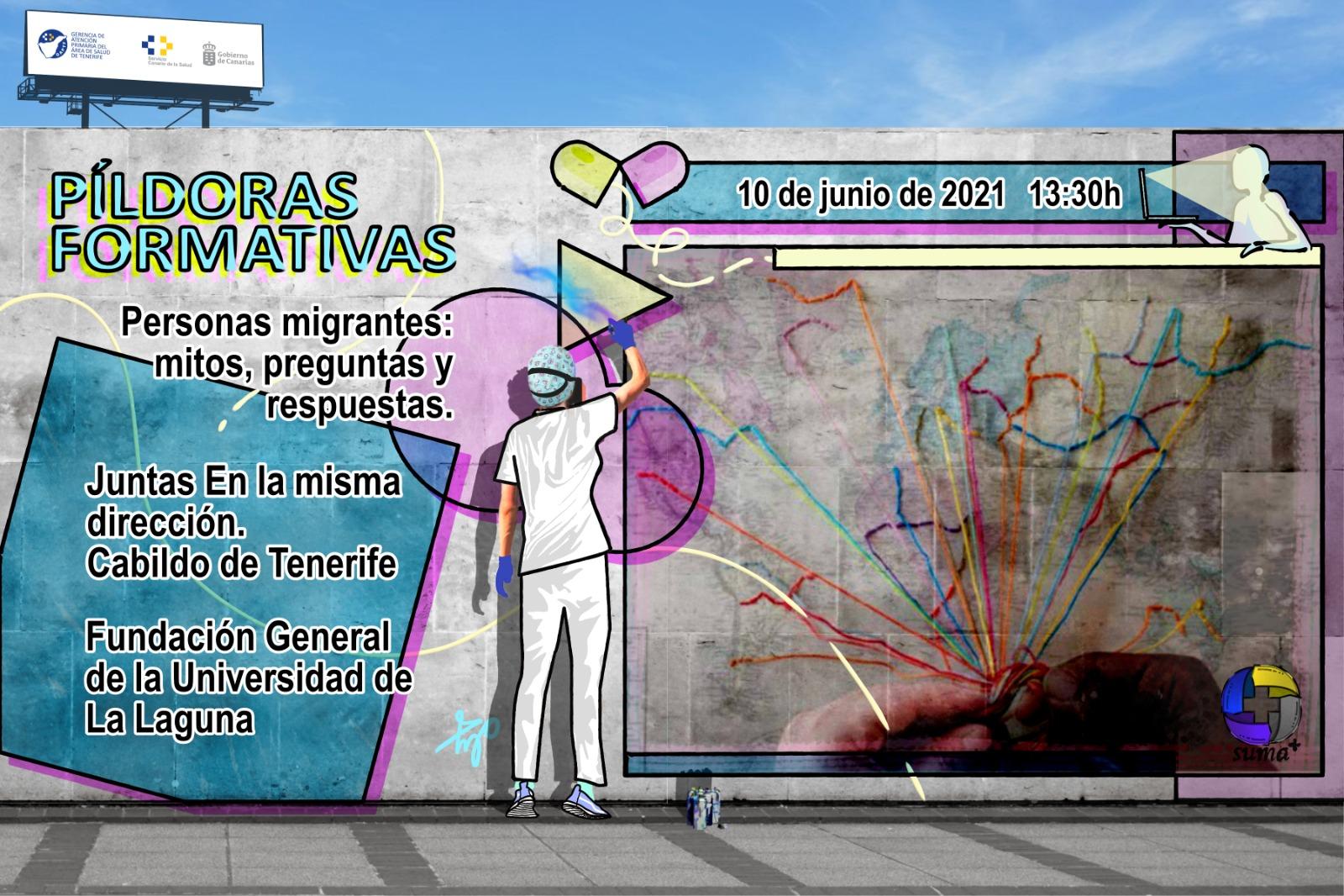 La Gerencia de Atención Primaria de Tenerife aborda la gestión de la diversidad cultural de la mano de Juntas En la misma dirección